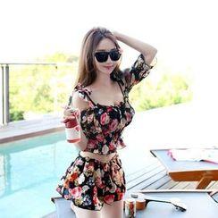 Rachel Swimwear - Floral Bikini Set