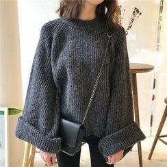 Chililala - 粗針織寬鬆毛衣
