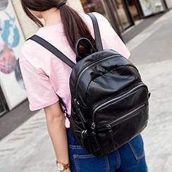 miim - Genuine Leather Backpack