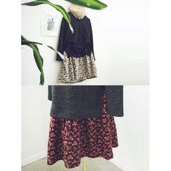 LOLOten - Mock Two Piece Dress