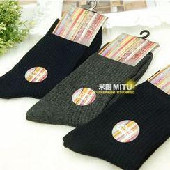 MITU - 羅紋短襪