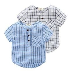 WellKids - Kids Plaid Shirt