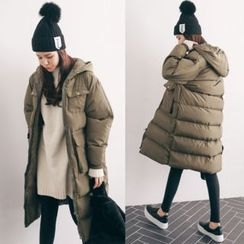 PPGIRL - Hooded Padded Coat