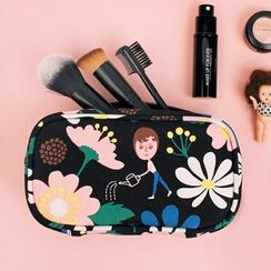 Full House - Oohlala - Cotton Cosmetic Bag / Pouch / Toiletry Bag