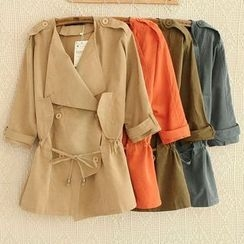 Heybabe - Double-Breasted Jacket