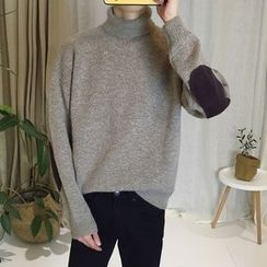 Soulcity - Mock Neck Sweater