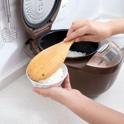 Home Simply - Wooden Fish Rice Spoon
