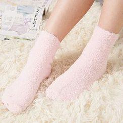 Lover's Kiss - Fleece Socks