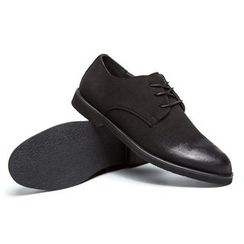 NOVO - Faux-Suede Oxfords