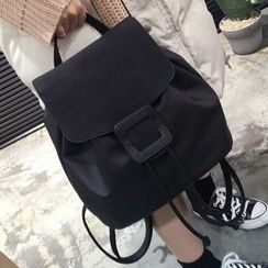 YUKISHU - Plain Flap Backpack