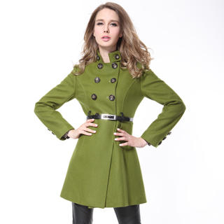 O.SA - Wool-Blend Belted Coat