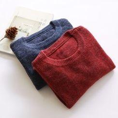 布丁坊 - 混色毛衣