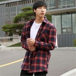 Smallman - Long-Sleeve Check Shirt