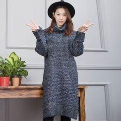 Florie - Turtleneck Sweater Dress