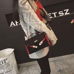 Rosanna Bags - Contrast Trim Shoulder Bag