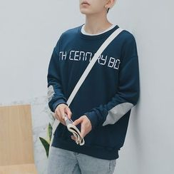 qiaqiayes - Lettering Pullover