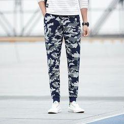 Danjieshi - Camouflage Sweatpants