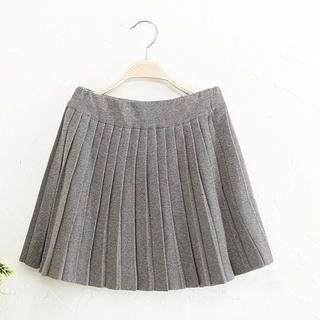 JVL - Pleated A-Line Skirt
