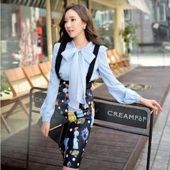 Dabuwawa - Printed Suspender Skirt