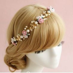 constello - Floral Bridal Hair Band