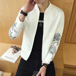 YONDER - Printed Zip Jacket