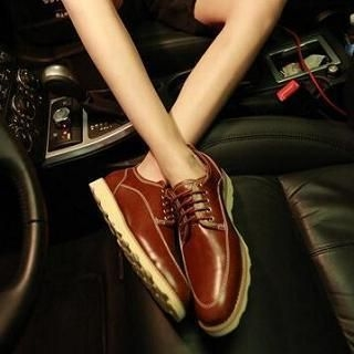 JUN.LEE - Lace-Up Shoes