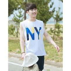 STYLEMAN - Sleeveless Printing Top