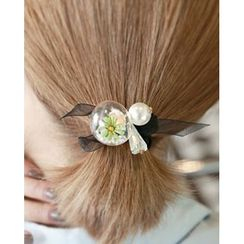 Miss21 Korea - Caged Flower Elastic Hair Tie