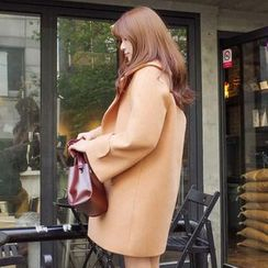 Ashlee - Woolen Long Coat