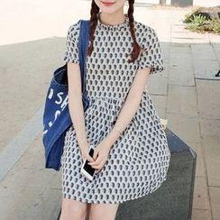 MayFair - Print Short-Sleeve Dress