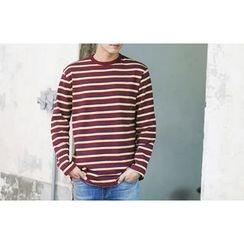 SCOU - Crew-Neck Striped T-Shirt