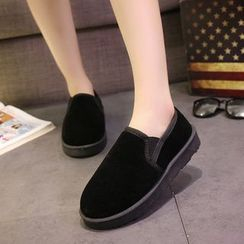 Wello - Fleece-lined Slip Ons