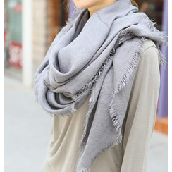 REDOPIN - Colored Fringe Scarf