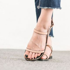 VIVIER - Faux Calf-Hair Sandals