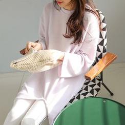 PPGIRL - Slit-Side Long T-Shirt