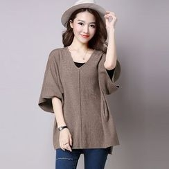 Piano Princess - Elbow-Sleeve knit Pullover