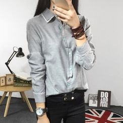 Cobogarden - Asymmetric Button Shirt