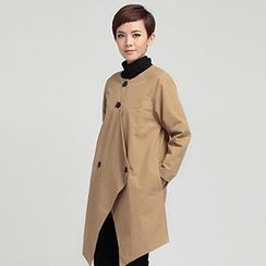 OnceFeel - Asymmetric Trench Coat