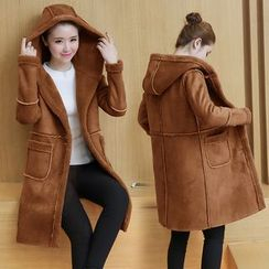 EFO - Fleece-Lined Hooded Coat