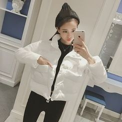 Cerulean - Cropped Puffer Jacket