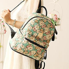 Canvas Love - Studded Backpack