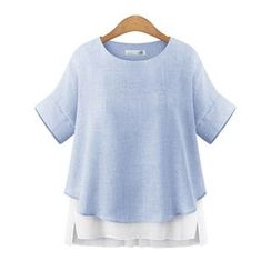 Flobo - Short-Sleeve Panel Top