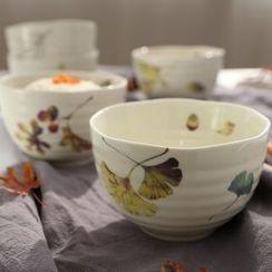 三木青禾 - 印花碗