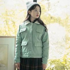 Sens Collection - Pocketed Fleece Jacket