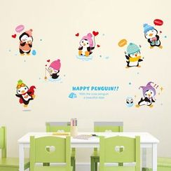 LESIGN - Penguin Wall Sticker