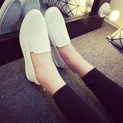 KOKAGIRL - Faux-Leather Slip-Ons