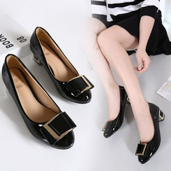安若 - 飾扣平底鞋