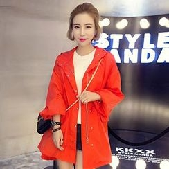 Reis - Hooded Trench Jacket