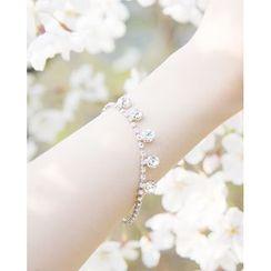 Miss21 Korea - Rhinestone Bracelet