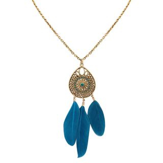 Bling Thing - Dreamcatcher Pendant Necklace